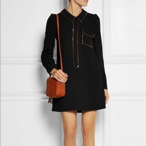 See by Chloe Sequined Embelished Crepe Dress
